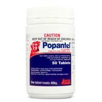 Popantel Allwormer Tablets For Large Dogs 50's