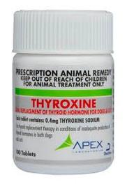 Thyroxine 0.4mg Tablets (100)