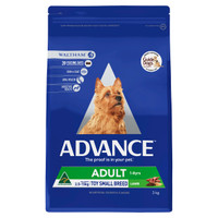 Advance Dog Dry Adult Toy/Small Breed Lamb 3kg