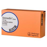 Vetmedin 10mg chewable tablets for dogs Pimobendan