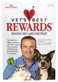 Vets Best Rewards Liver Treats 500g