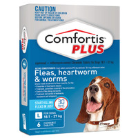 Comfortis Plus For Dogs 18.1-27kg Blue 6 Tablets