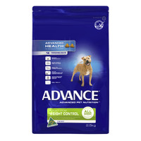 Advance Dog Dry Weight Control All Breed Chicken 2.5kg