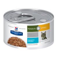 Hills Prescription Diet Feline Metabolic plus Urinary 82g x 24