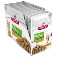 Hills Science Diet Feline Kitten Healthy Developmment Tender Chicken Dinner 85g x 12