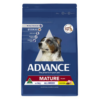 Advance Dog Dry All Breed Mature Chicken 15kg