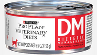 Purina Pro Plan Veterinary Diets DM Diabetic Management for Cats Wet 160g x 24