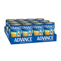 Advance Dog Wet Weight Control All Breed Chicken 405g x 12