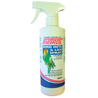 Avitrol Mite And Lice Spray For Birds 500ml
