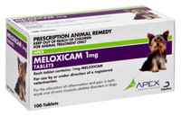 Meloxicam Chewable 1mg Tablets (100) – Meloxicam