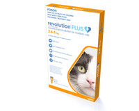 Revolution Plus for Medium Cats 2.6-5kg (3 Pack)