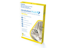 Revolution Plus for Kittens & Small Cats 1.25-2.5kg (3 Pack)