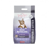 Trouble and Trix Lavender Clumping Clay Litter 15L