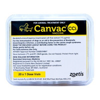 Canvac CCI 20 doses zoetis