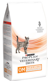 Purina PRO PLAN Veterinary Diets OM Overweight for Cats Dry 2.72kg