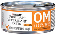 Purina PRO PLAN Veterinary Diets OM Overweight for Cats Wet 156g x 24
