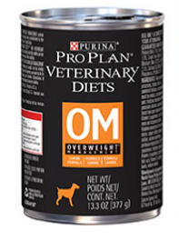 Purina PRO PLAN Veterinary Diets OM Overweight for Dogs Wet 377g x 12