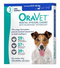 Oravet Dental Hygiene Chews for Small Dogs (4.5-11kg) (28)