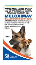 Meloximav Oral Suspension 100mL (Mavlab)