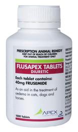 Flusapex Tablets 40mg (1000) – frusemide tablets