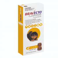 Bravecto Very Small Dog (2kg - 4.5kg) 112.5mg Yellow 6 month pack