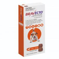 Bravecto Small Dog (4.5kg - 10kg) 250mg Orange 3 month pack x 2 chews
