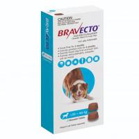 Bravecto Large Dog (20kg - 40kg) 1000mg Blue 3 month pack x 2 chews