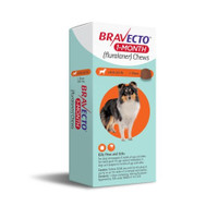 Bravect 1 Month Chew for Dogs 4.5-10kg (1 Pack)