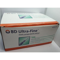 BD Ultra-Fine 1mL 29G 32611 (100 Syringes)