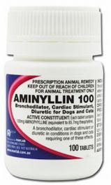 Aminyllin 100mg (100 tablets) Aminophylline 100mg Mavlab