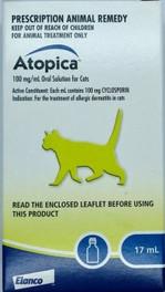 Atopica (Cyclosporine) 17mL Solution