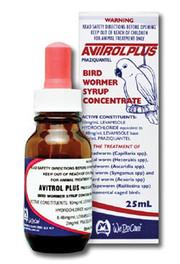 Avitrol Plus Bird Wormer Syrup 25ml