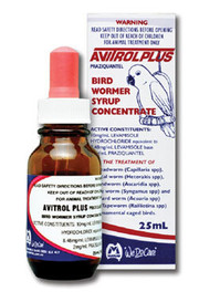 Avitrol Plus Bird Wormer Syrup 25ml
