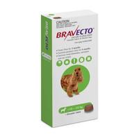 Bravecto Medium Dog (10kg - 20kg) 500mg Green 3 month pack