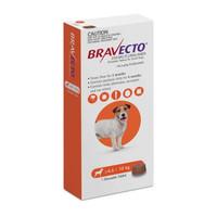 Bravecto Small Dog (4.5kg - 10kg) 250mg Orange 3 month pack