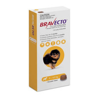 Bravecto Very Small Dog (2kg - 4.5kg) 112.5mg Yellow 3 month pack