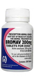 Bromav Tablets 200mg (200 Tablets) Potassium Bromide Mavlab