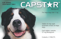 Capstar 57mg Tablets 6's 11-57 Kg Green