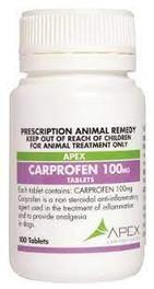 Carprofen Tablets (Apex) 100mg (100)