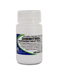 Dimmitrol Tablets 50mg 100's
