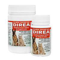 Direa Anti-Diarrhoeal Tablets for Dogs and Cats (50 Tablets)