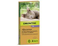 Drontal Cat 4kg Tablets (4 Pack)