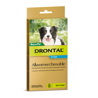 Drontal For Medium Dogs 10Kg Chewable (5 Pack)