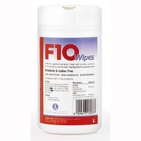 F10SC Veterinary Disinfectant Wipes 100