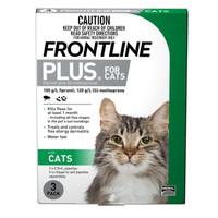 Frontline Plus Cat Green 0.5ml 3's