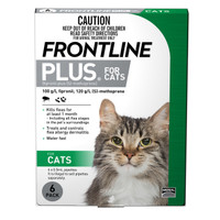 Frontline Plus for Cats Green 0.5ml 6's