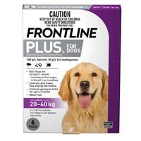Frontline Plus Large Purple (20kg - 40kg) 2.68ml 6s