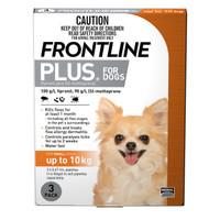 Frontline Plus Small Orange (< 10kg) 0.67ml 3s