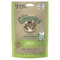Greenies Feline Dental Treats Catnip Flavour 71g