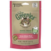 Greenies Feline Dental Treats Savoury Salmon Flavour 71g